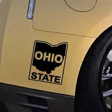 Ohio State University Logo Vinyl Decal Sticker Bumper Fun Personality Decorative Accessories Packaging Car Stickers Aliexpress