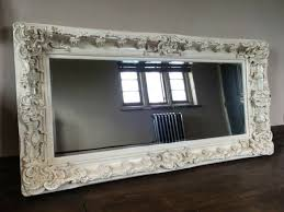 shabby chic wall mirror for