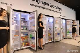 """Samsung ra mắt dòng tủ lạnh """"Side by Side"""" RS5000 tại VN: công ..."""
