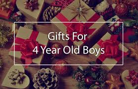 best gifts for 4 year old boys
