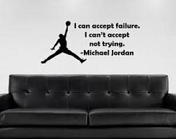 Michael Jordan Decal Etsy