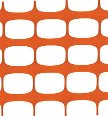 Buy Orange Plastic Safety Mesh Fence Economy 50m Roll Here Barriers4u Co Uk Barriers For Crowd Control Safety