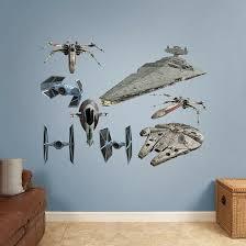 Fathead Star Wars Original Trilogy Spaceships Peel And Stick Wall Decal Wayfair