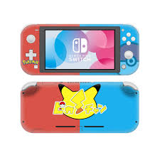 Poke Custom Skin Sticker For Nintend Switch Lite Console Controller Game Sticker Vinyl Decal Protector Buy At The Price Of 3 87 In Aliexpress Com Imall Com