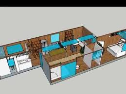 40 ft container homes design floor plan
