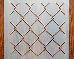 Chain Link Fence Etsy