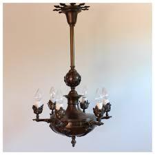 diy122 bronze candle chandelier