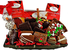 chocolate gift baskets unique holiday