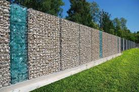 15 Impressive Ideas On How To Build A Privacy Stone Walls Or Fences In Outdoor Top Inspirations Modern Fence Design Fence Design Gabion Fence