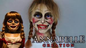 annabelle doll makeup