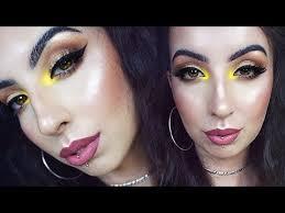 makeup look l yellow inner corner