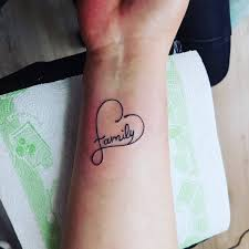 Tatuaz Nowetattoo Tatuaze Rodzina Serce Dziara Dziary Tatuowanie