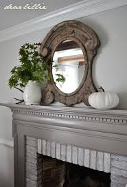 painted fireplace mantels