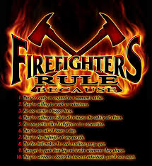firefighters rule firefighters