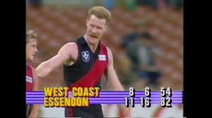 1987, Essendon vs West Coast Highlights ...