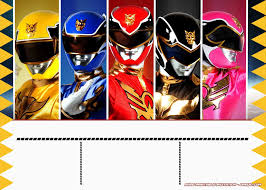 Pin En Cumple Power Ranger
