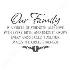 circle of strength family quotes key phrase crisis faced