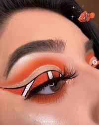 disney inspired eye and lip makeup