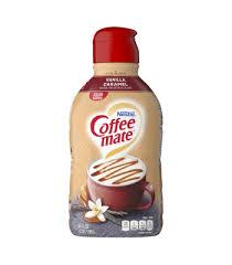 vanilla caramel coffee creamer liquid