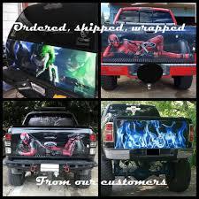 Truck Tailgate Vinyl Wrap Mortal Combat Art Graphics Subzero Etsy
