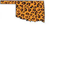3 Oklahoma State Leopard State Logo Vinyl Decal Wesellspirit Com