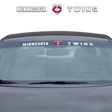 Mlb Minnesota Twins Windshield Decal Fanmats Sports Licensing Solutions Llc