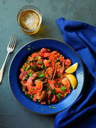 Chorizo & Seafood Paella - Instant Pot ...