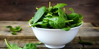 cooked and raw spinach nutrition facts
