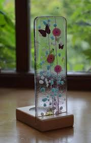 image result for fused glass display
