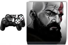 Ps4 Pro God Of War Skin For Playstation 4 Buy Online Skins Decals At Best Prices In Egypt Souq Com