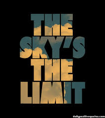 the sky s the limit daily positive quotes