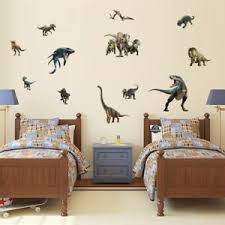 Animals Wall Stickers Kids Dinosaur Art Mural Decal Boys Children Room Decor Ebay