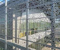 Decorative Perforated Sheet Metal Ideal For Architecture And Interior Design