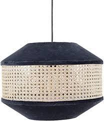 cotton velvet cane pendant ceiling