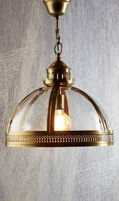 light pendant large antique brass