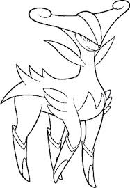 Virizion Pokemon Kleurplaat Omegaruby Alphasapphire Http Www