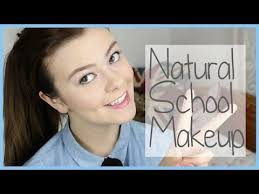 apply natural looking makeup for