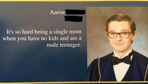 funny awesome and awkward yearbook photos and quotes