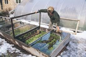 the secret to winter gardening off