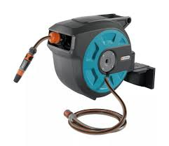 gardena wall mounted hose reel 15 roll