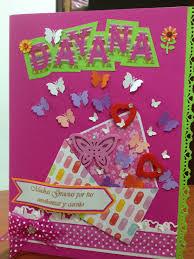 Tarjeton Para Maestra Scrapbook Con Imagenes Tarjetas De La