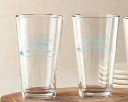 moon back personalized pint glasses