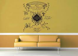 Marauder S Map Harry Potter Wall Decal Geekerymade