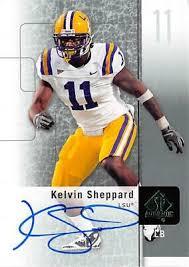 Kelvin Sheppard autographed Football Card (LSU) 2011 Upper Deck ...