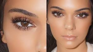 kendall jenner natural glowing makeup
