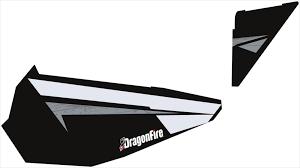 129 99 Dragonfire Racing Black Pearl Door Panel Graphics 233550