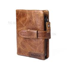 genuine leather purse men wallet
