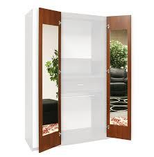 new wardrobe with mirrored door