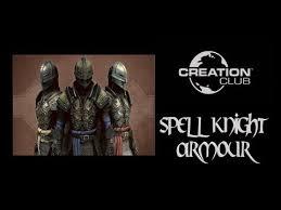 skyrim creation club spell knight