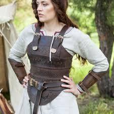 women s leather corset armor